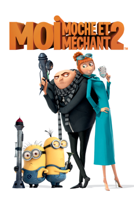 Pierre Coffin & Chris Renaud - Moi, moche et méchant 2 (Despicable Me 2) illustration