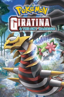 Pokemon Giratina And The Sky Warrior Dubbed On Itunes