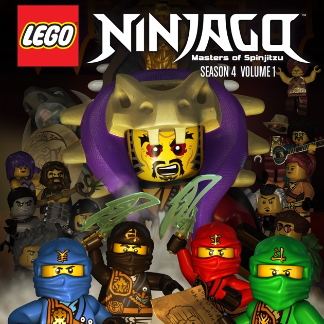 Lego ninjago season 4 vol 1 on itunes - Ninjago saison 7 ...