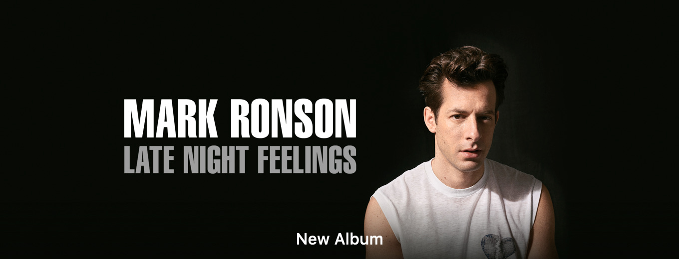 Late Night Feelings by Mark Ronson