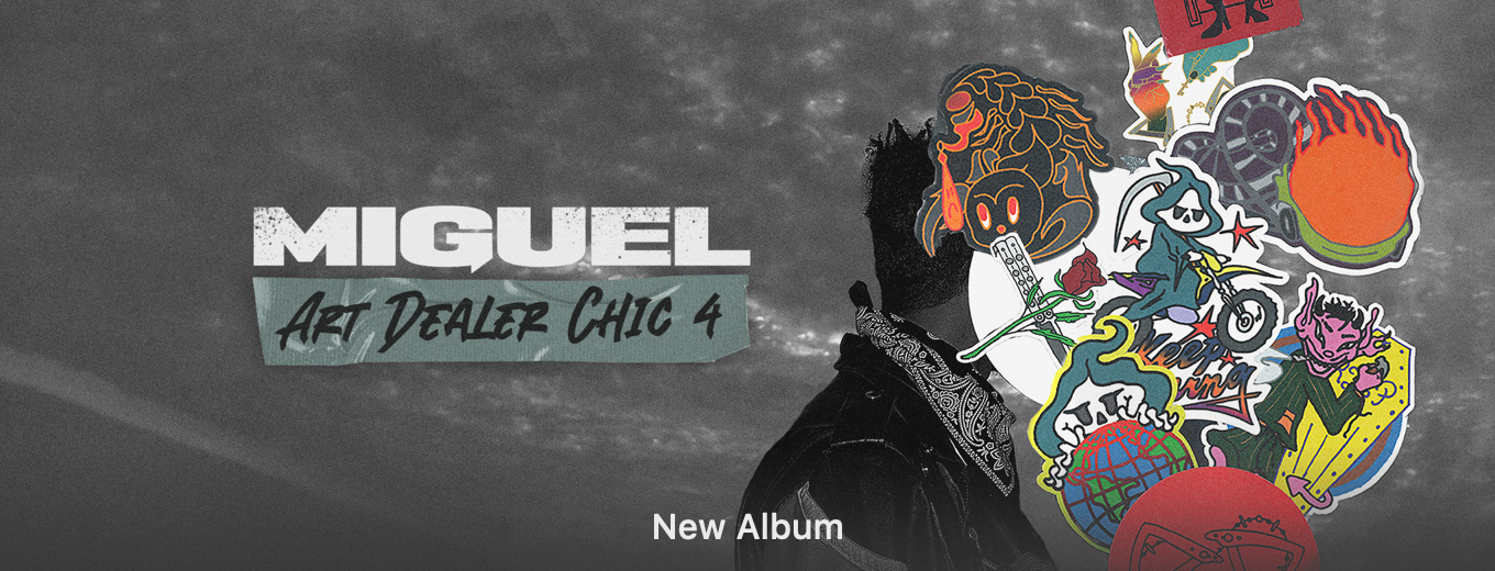 Art Dealer Chic 4 - EP by Miguel